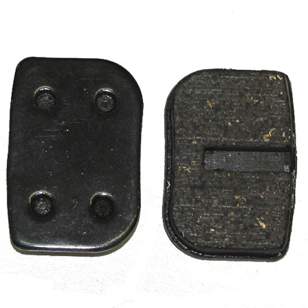 2 stroke 25cc 33cc 43cc 49cc scooter pocket bike brake pad set