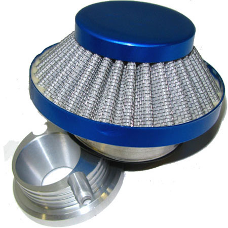 2 stroke 47cc 49cc mini pocket bikepars  Blue UFO Air Filter Kit