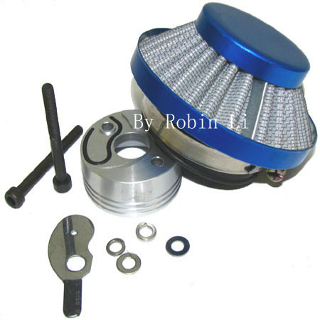 2 stroke 33cc /49cc pocket bike complete Blue UFO Air filter Kit