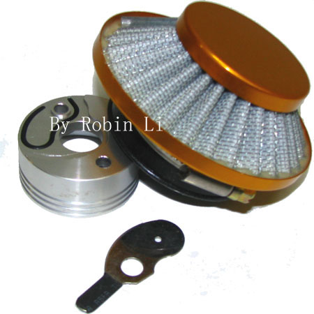 2 stroke 33cc/49cc pocket bike scooter parts Gold UFO Air filter