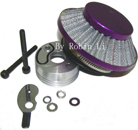 2 stroke 33cc /49cc pocket bike scooter Purple UFO Air Filter co