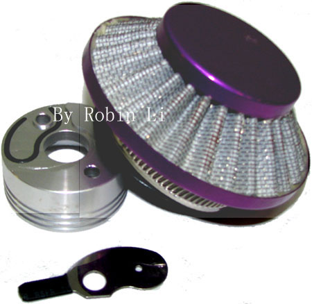 2 stroke pocket bike scooter parts Purple UFO Air Filter Kit