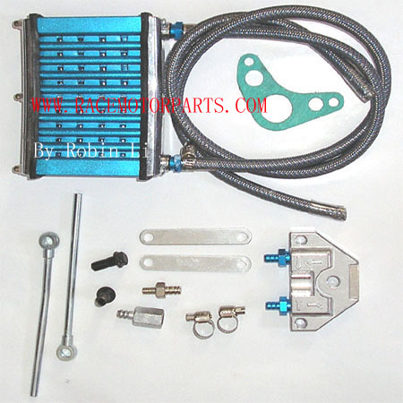 4 stroke  50cc To 125cc Blue performer Oil Cooler Kit