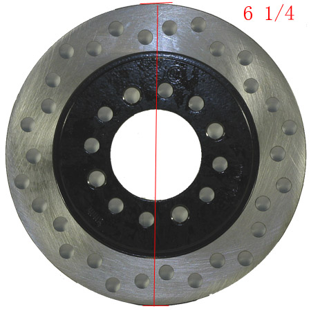 4  stroke 50cc 70cc 110cc 125cc ATV 6 1/4 inch  Rear Brake Disc