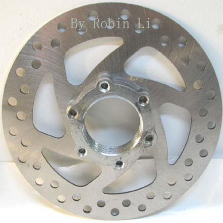 5.5 inch 6 hole Brake Disc with adpter