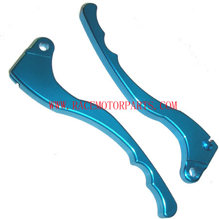4 stroke Blue NC brake Lever Pair