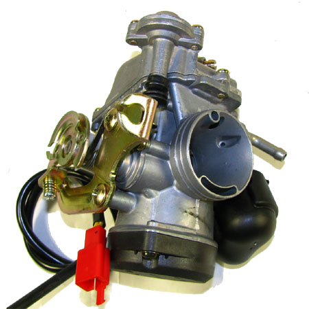 4 stroke GY6 125cc 150cc Moped   CVK Carburetor