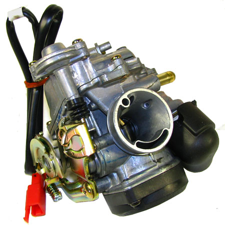 4 stroke GY6 50cc Moped   CVK Carburetor