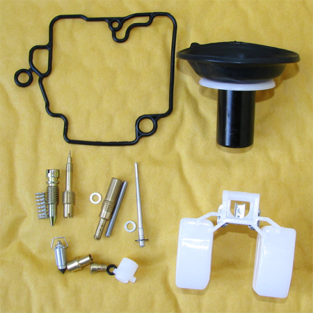 4 stroke Gy6 50cc Carburetor Rebuild kit