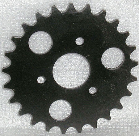 2 stroke 49cc pocket bike X1 25 Tooth Pro sprocket
