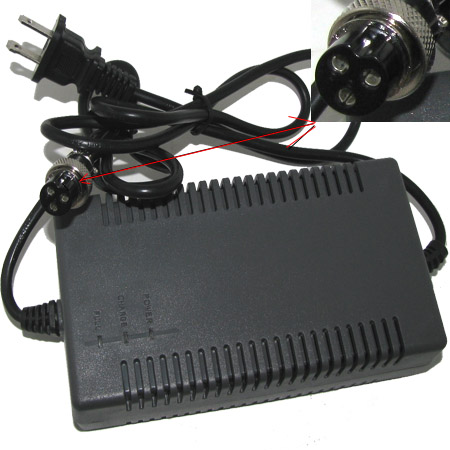 24V 1.8A Charger For Electric Scooter , Electric Go Kart, Electr
