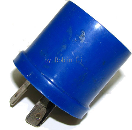 12V Blue cone Flasher For 49cc pocket bike X1, X2, X8, Fs509,Fs5
