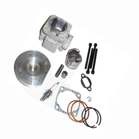 2 stroke 47cc MT-A1 MT-A2 Lucky 7 701 pocket bike Silver Billet