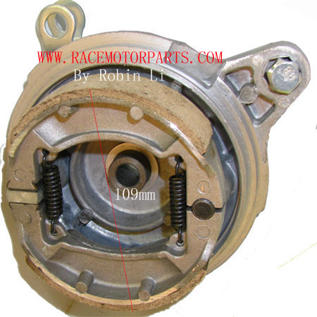 4 Stroke Dirt bike 109mm Drum Brake For 110mm Drum Brake Housing