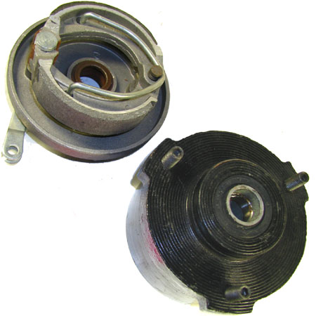 4 stroke 50cc right Rear drum Brake Assembly