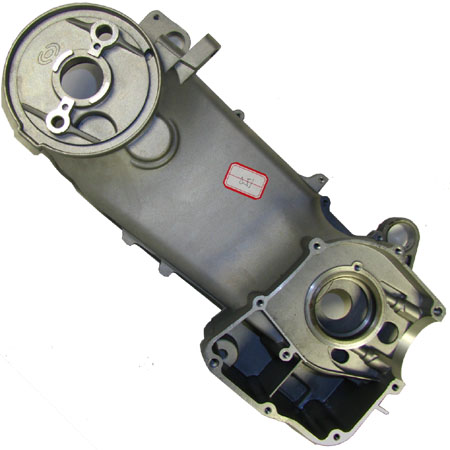 4 stroke GY6 150cc Moped left Crankshaft Case