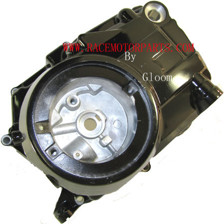 4 stroke Lifan Manual 125cc Black Left Engine Cover
