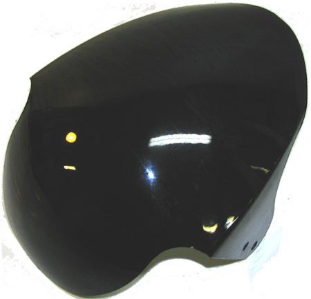 Black 49cc pocket bike Fs509 front Fender