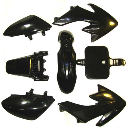 4 stroke 50cc To 125cc Pit bike Dirt bike Black D.B body/fairing