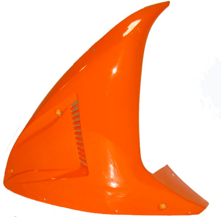 4 stroke 2 stroke Fs529A X7 Orange Upper side Fairing pair
