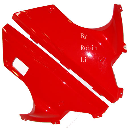 2 stroke pocket bike  Fs529 X7 Red Lower side fairing Pair