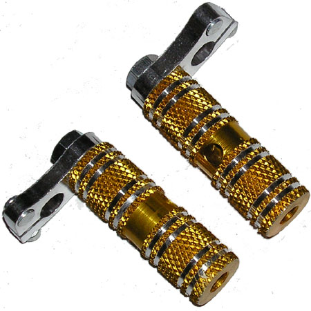 47cc 49cc Mini pocket bike MT-A1 MT-A2 701 gold round foot peg s