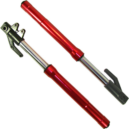 Dirt Bike Pit bike Red UpSide Down Fork Set
