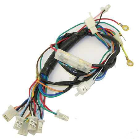 2 stroke 49cc X1 X2 X7  X8 pocket bike  12 plug Harness