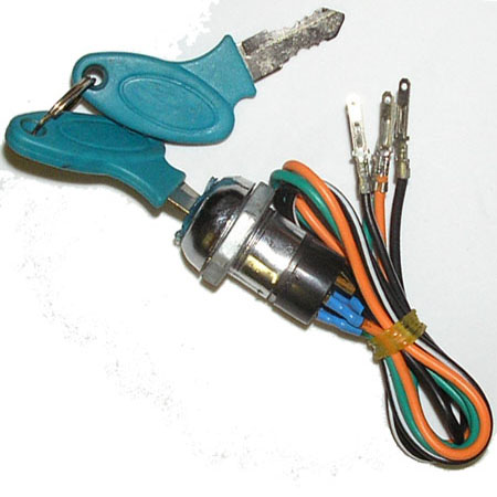 4 Wire Blue Key For 43cc scooter ,43cc 49cc pocket bike Fs509,X2