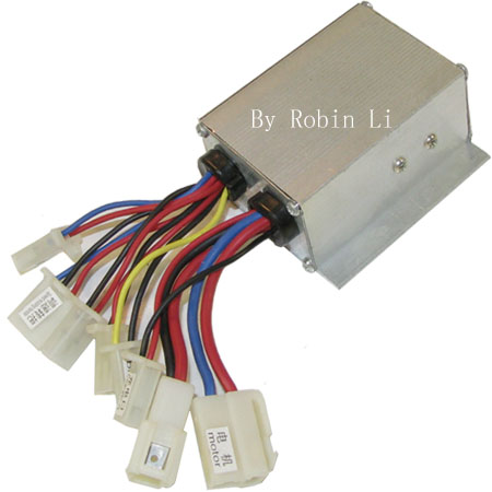 Electric scooter , Electric Go Kart 24V 250w 17wire Module