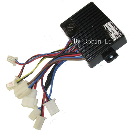 250W 24V 17Wire Black Module For Electric scooter , Electric Go