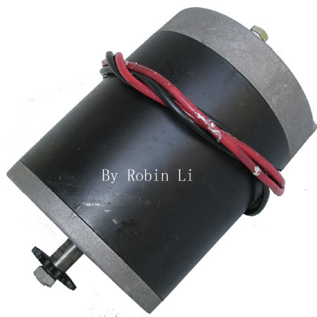 24V 500w 2050RPM 26A Motor Chain For Electric scooter ,Electric