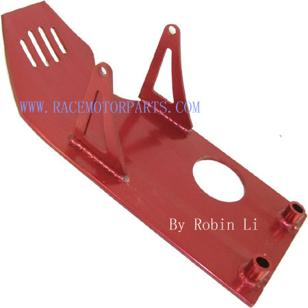 4 stroke dirt bike RED Aluminum Engine Plate