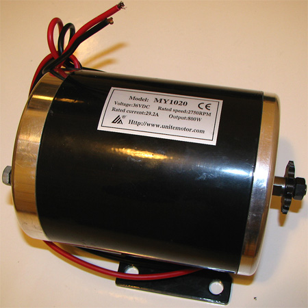 36V 800w 2750RPM 29.2A Chain Motor For Electric scooter ,Electri