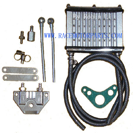 4 stroke 50cc To 125cc Silver performer Oil Cooler Kit