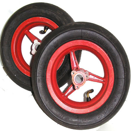2 stroke 47cc 49cc mini pocket bike MT-A1, MT-A2, 701 Red 6.5 in