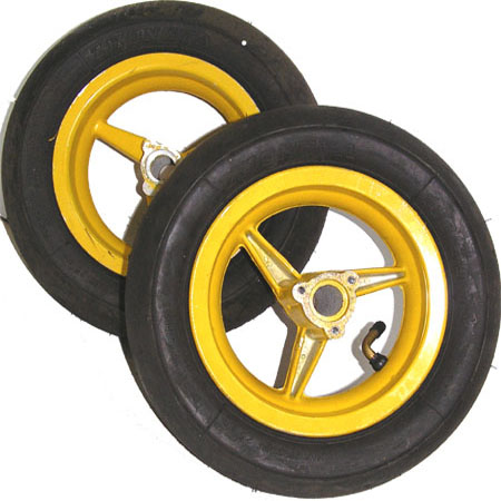 2 stroke 47cc 49cc mini pocket bike MT-A1, MT-A2, 701 yellow 6.5