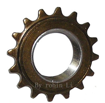 Electric scooter sprocket freewheel for Freewheel sprocket for electric motor