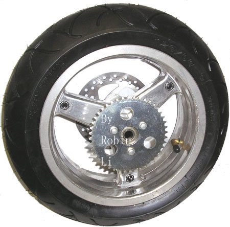 2 stroke 49cc pocket bike X1 X2 Rear wheel kit