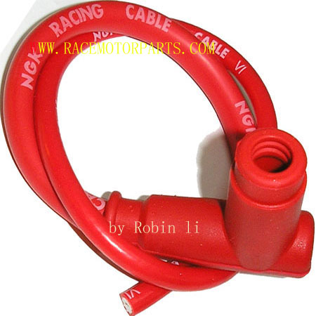 4 stroke NGK Red Racing Spark Plug Cable