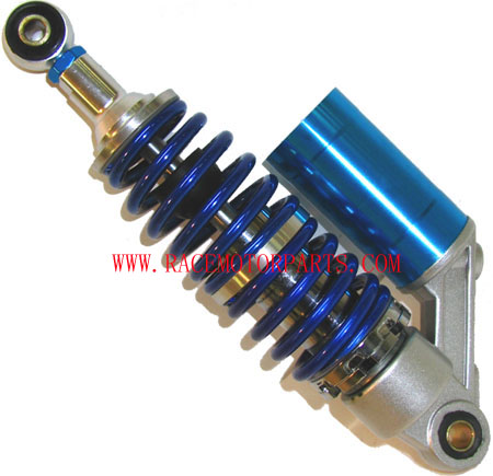 4 stroke 12 inch blue Double 6mm coil ATV Front Reservoir Shock