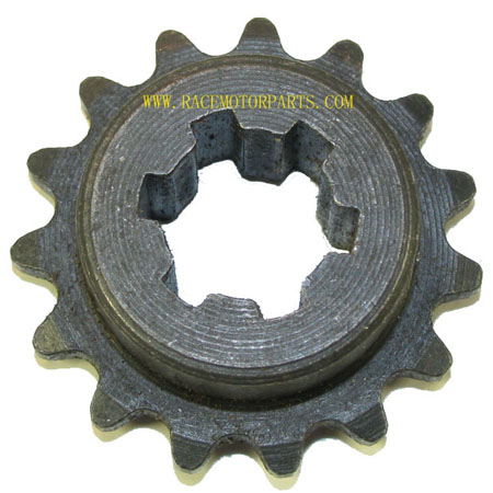 2 stroke 15Tooth Driver Sprocket For 25 chain