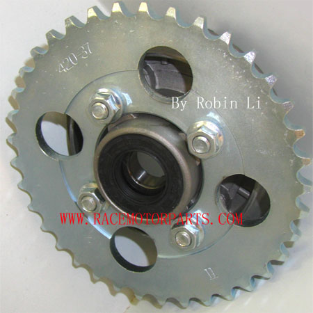4 stroke dirt bike 37tooth sprocket and Hub Adaptor Assembly
