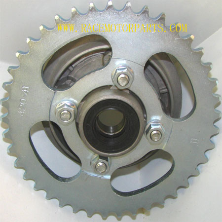4 stroke dirt bike 41tooth sprocket and Hub Adaptor Assembly