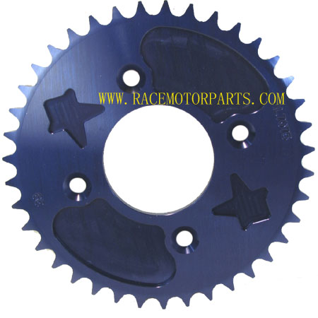 4 Stroke 39Tooth RED CNC Sprocket For 420 Chain