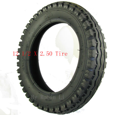 Electric scooter 12 1/2 X 2 1/2 (12.5 X 2.5) Tire