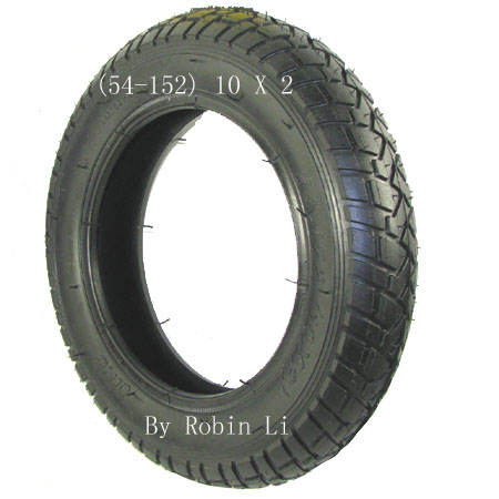 Electric scooter 10 x 2 tire