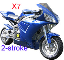 2 Stroke FS529 X7 Pocket Bike Parts