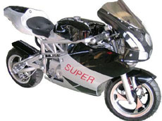 4 Stroke X12 Pocket Bike
